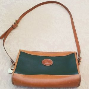 AUTHENTIC VINTAGE DOONEY AND BOURKE GREEN PURSE